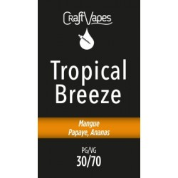E-liquide Tropical Breeze - Craft Vapes