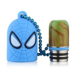 Cache Drip Tip Captain america + Drip Tip Resin 510