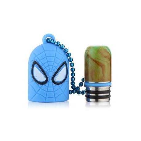 Cache Drip Tip Spider man + Drip Tip Resin 510