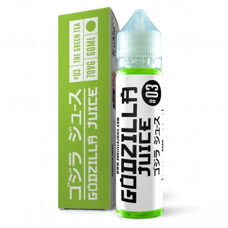 E-liquide The Green Tea 60ml - Godzilla