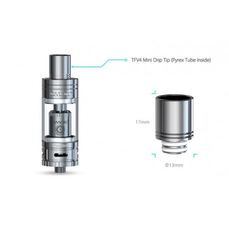 Full Kit TFV4 Mini SS - SmokTech