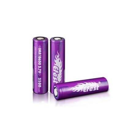 Accu 18650 Efest Purple 3500mah 20A