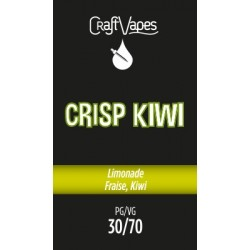 E-liquide Crisp Kiwi - Craft Vapes