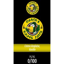E-liquide Gizzard Juice - Quacks Juice Factory