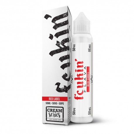 E-liquide Red Label 50ml - Fcukin'flava