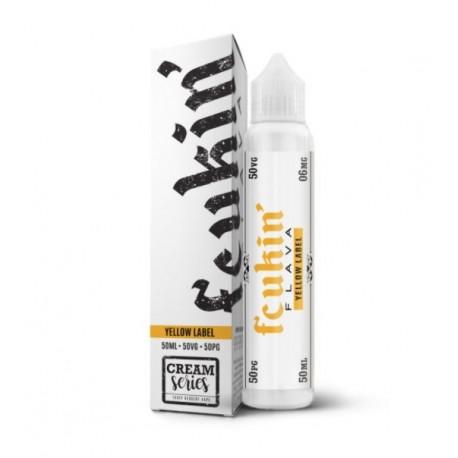 E-liquide Yellow Label 50ml - Fcukin Flava