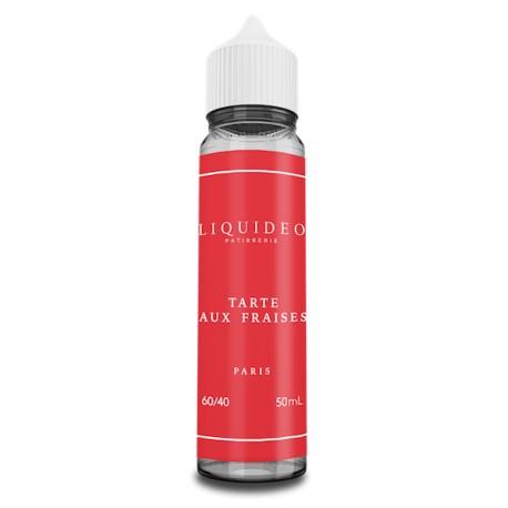 E-liquide Tarte aux Fraises 50ml - Tentation