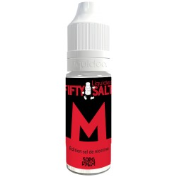 E-liquide M 10ml - Fifty Salt