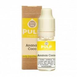 E-liquide Ananas Coco 10ml - Pulp