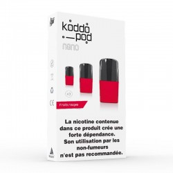 Recharge Fruits Rouges - Koddo_pod nano
