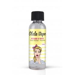 E-liquide Ménage A Trois 50ml - Olala Vape