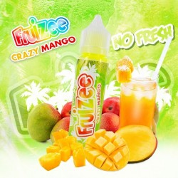 E-liquide Crazy Mango NO FRESH 50ml - Fruizee