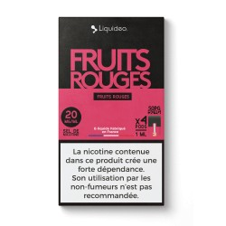 Cartouches Fruits Rouges - Wpod