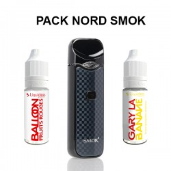 Pack Nord / Fruité - Smoktech