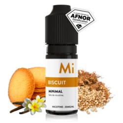 E-liquide Biscuit 10ml - Minimal