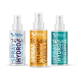 Spray hydroalcoolique 100ml - Akiva