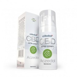 Crème Aczedol (acné) CBD - Cibdol