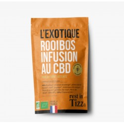 Infusion CBD / Rooibos Bio L'exotique - TIZZ