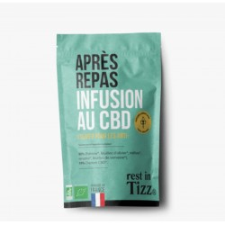 Infusion CBD / Apres Repas Bio - TIZZ