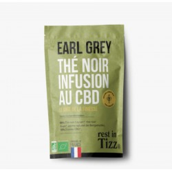Infusion CBD / Thé Noir Bio Earl Grey - TIZZ
