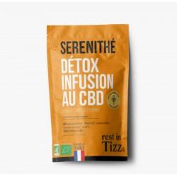Infusion CBD / Detox Bio Sérénithé - TIZZ