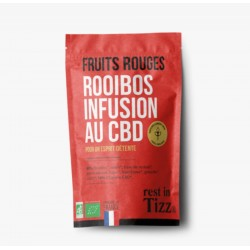 Infusion CBD / Rooibos Bio Fruits Rouges - TIZZ