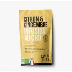 Infusion CBD / Gingembre Citron - TIZZ