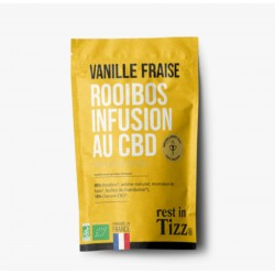 Infusion CBD / Rooibos Vanille Fraise - TIZZ