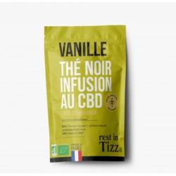Infusion CBD / Thé Noir Vanille - TIZZ