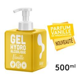 Push Cube Gel Hydroalcoolique Vanille 500ml - Akiva