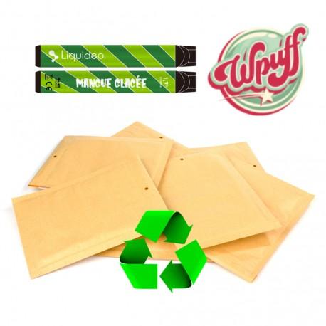 Enveloppe Retour / Recyclage - Wpuff Liquideo