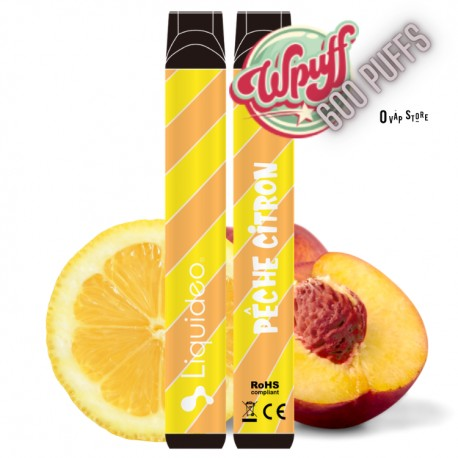 WPuff Pêche Citron - Liquideo
